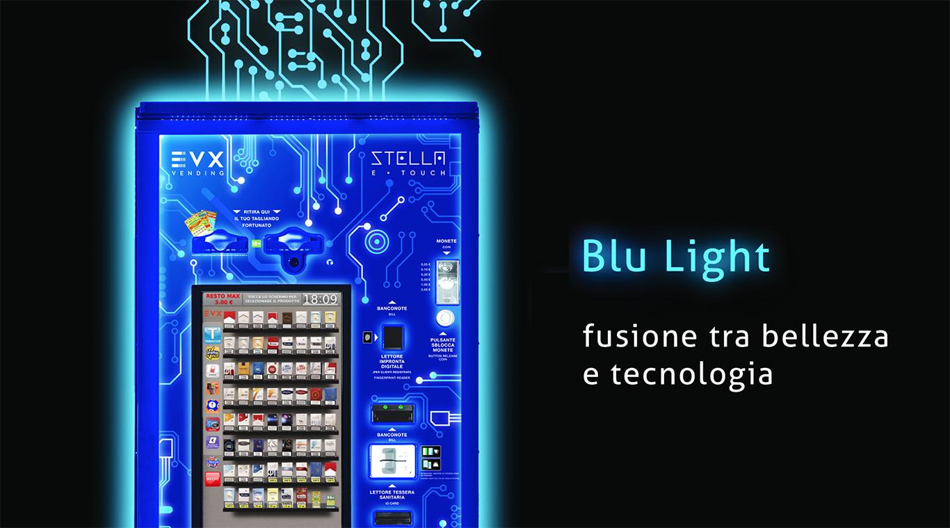 distributori automatici sigarette blu light