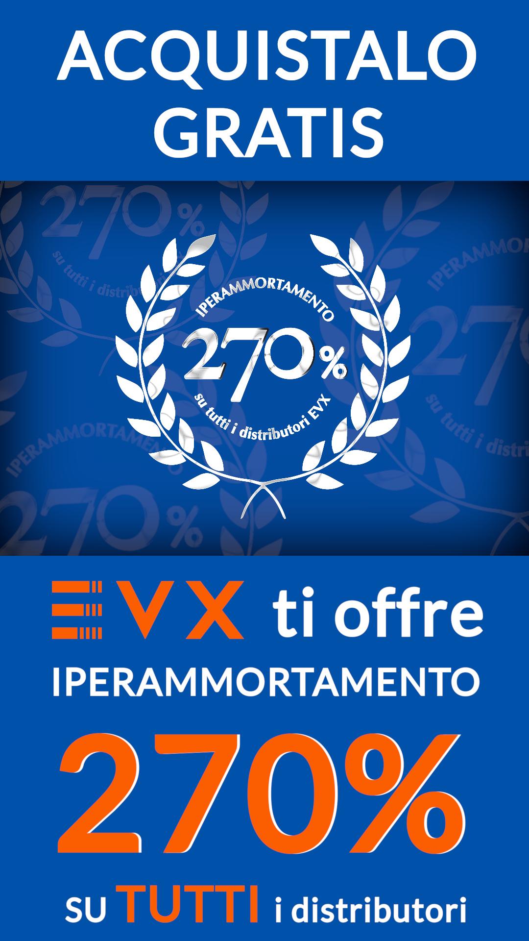 Locandina Iperammortamento 270 % EVX
