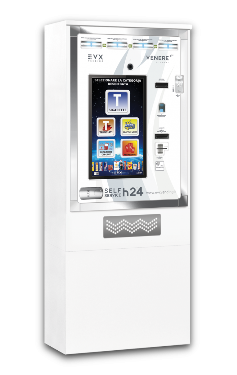 Venere +Plus EVX Distributore automatico di sigarette bianco