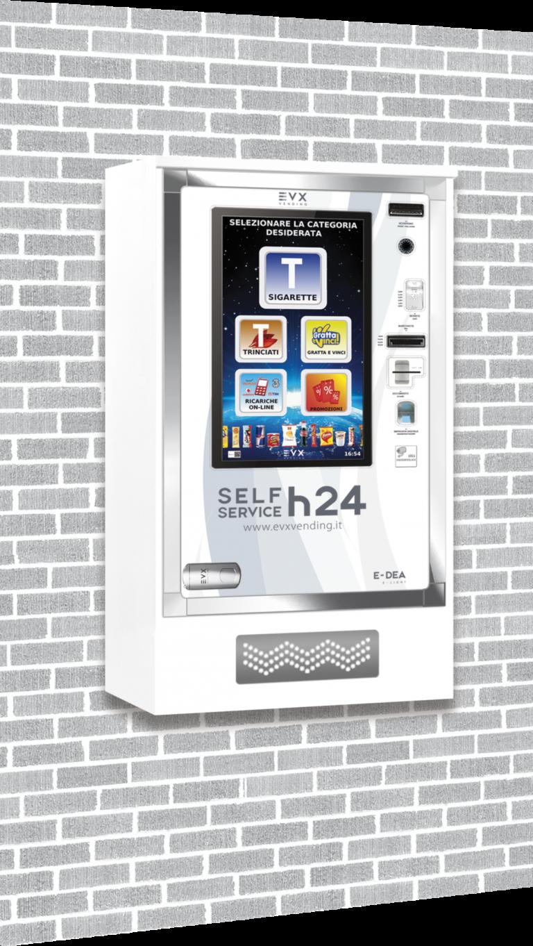 E-Dea EVX Distributore automatico di sigarette bianco