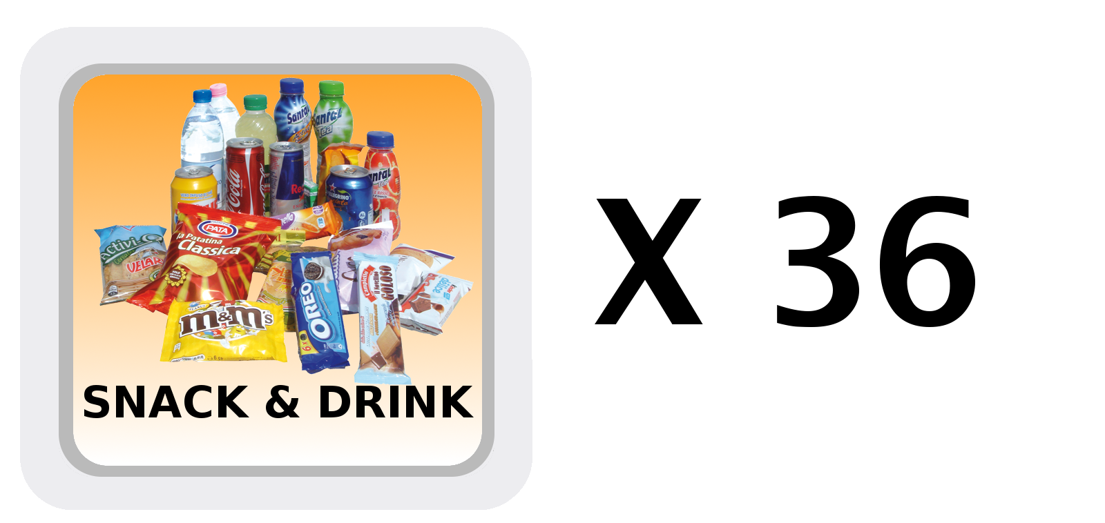 Icona Selezioni Snack&Drink di G-Snack SS6 EVX