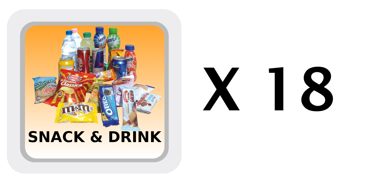 Icona Selezioni Snack&Drink Friigo EVX