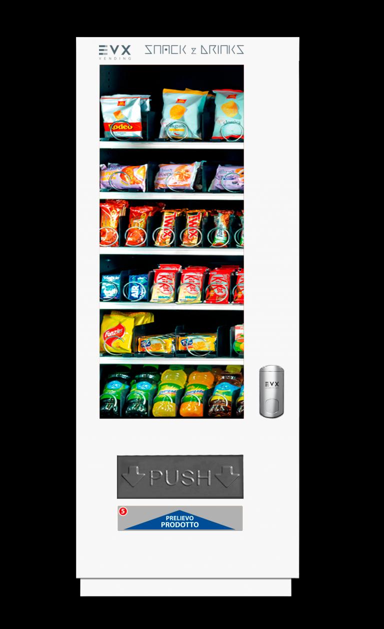 Snack&Drinks slave SS6 EVX Distributore automatico di snacks bianco