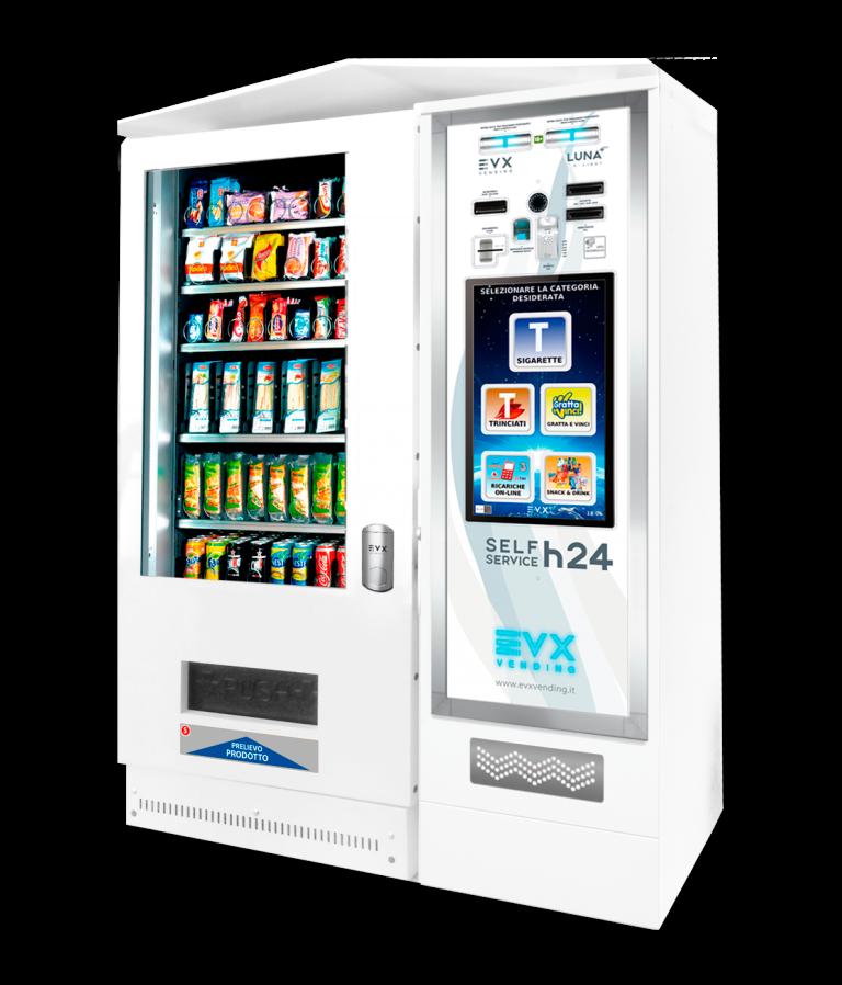 Snack&Drinks slave SS8 EVX Distributore automatico di snacks bianco