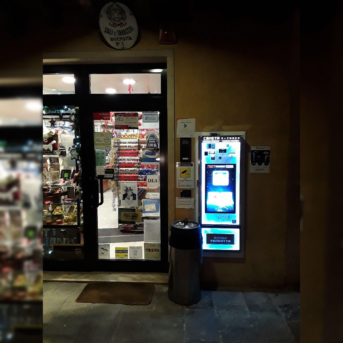 Distributore automatico di sigarette EVX Cometa E-Touch