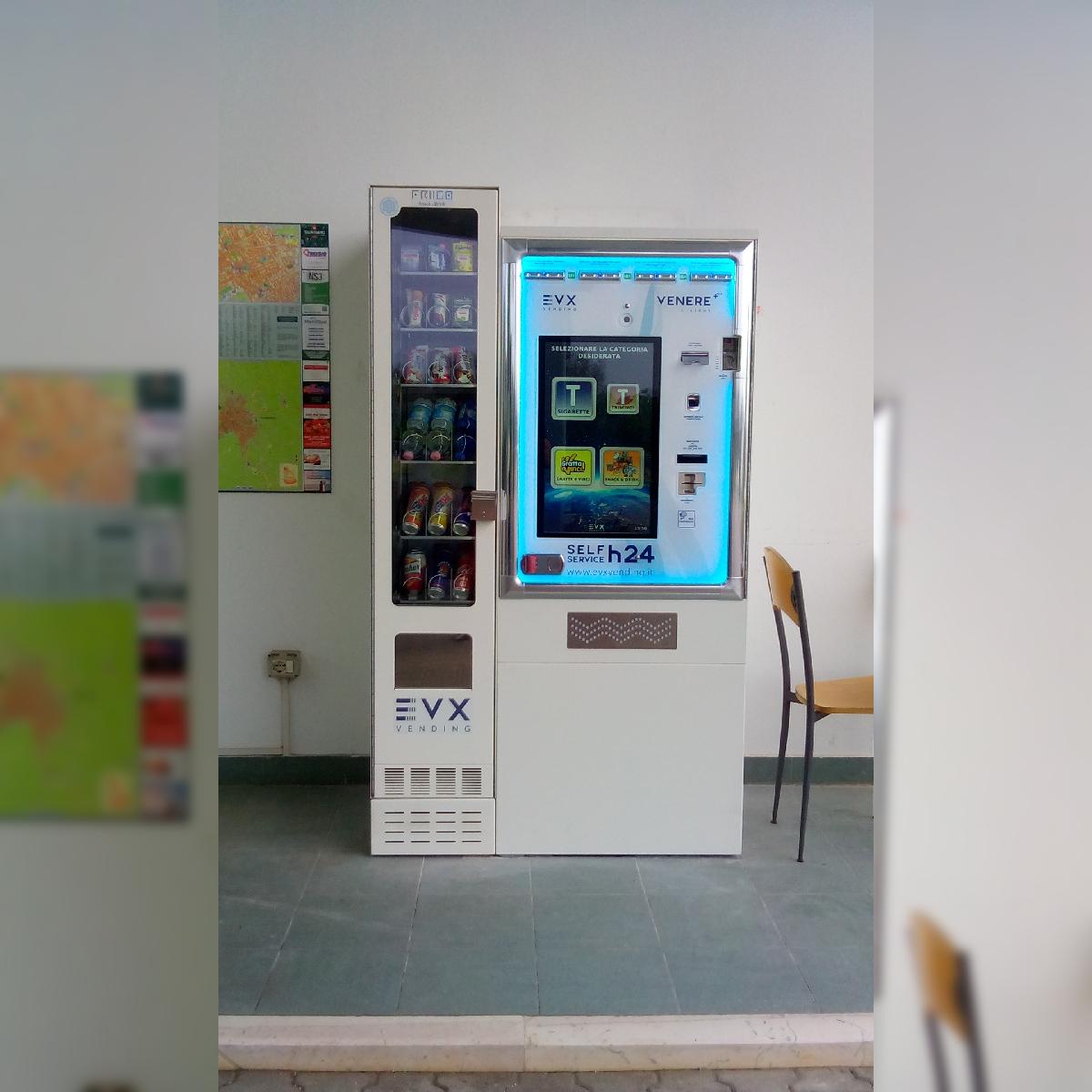 Distributore automatico di sigarette EVX Venere +Plus + FRIIGO (2)