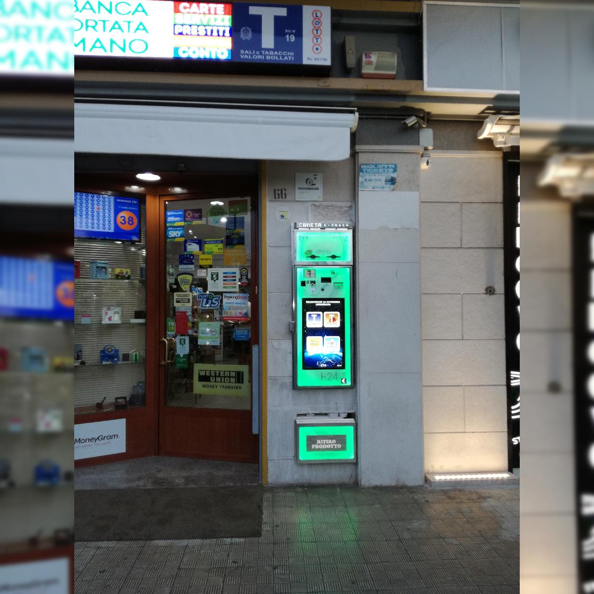 Distributore automatico di sigarette EVX Cometa E-Touch (2)