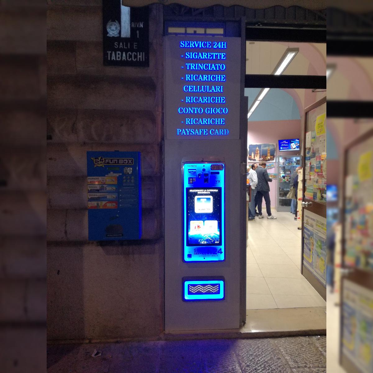Distributore automatico di sigarette EVX Cometa +Plus (2)