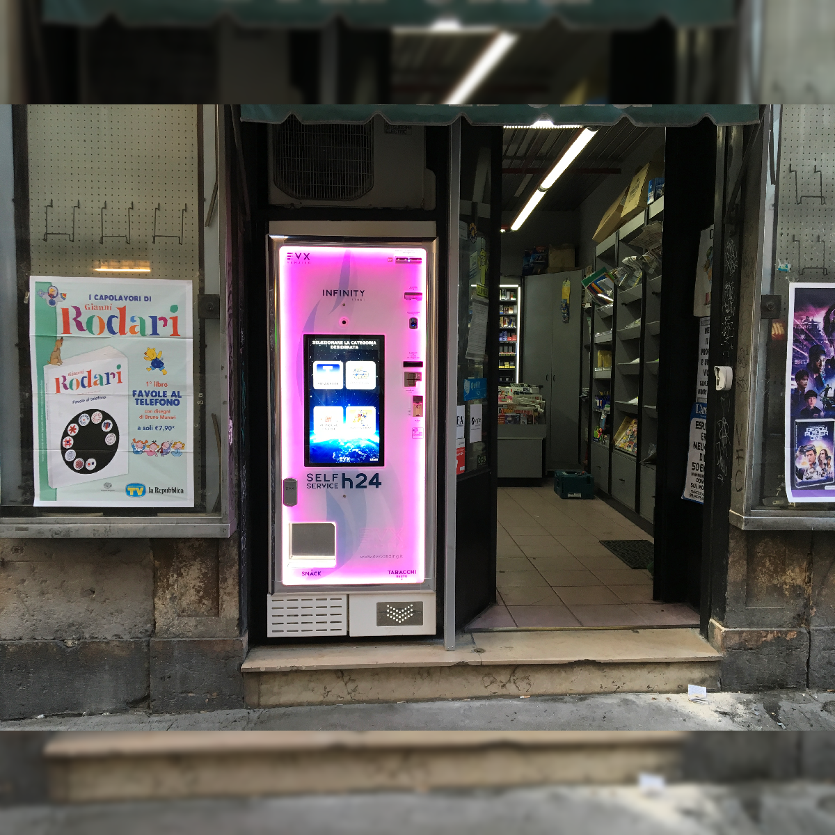 Distributore automatico di sigarette EVX Infinity Store (3)