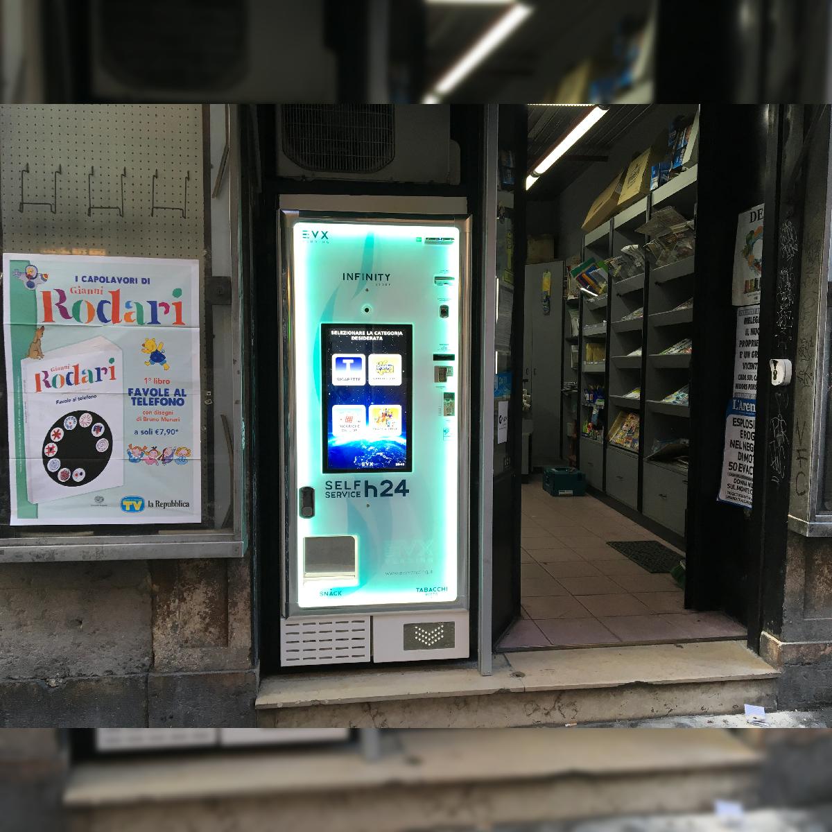 Distributore automatico di sigarette EVX Infinity Store (4)