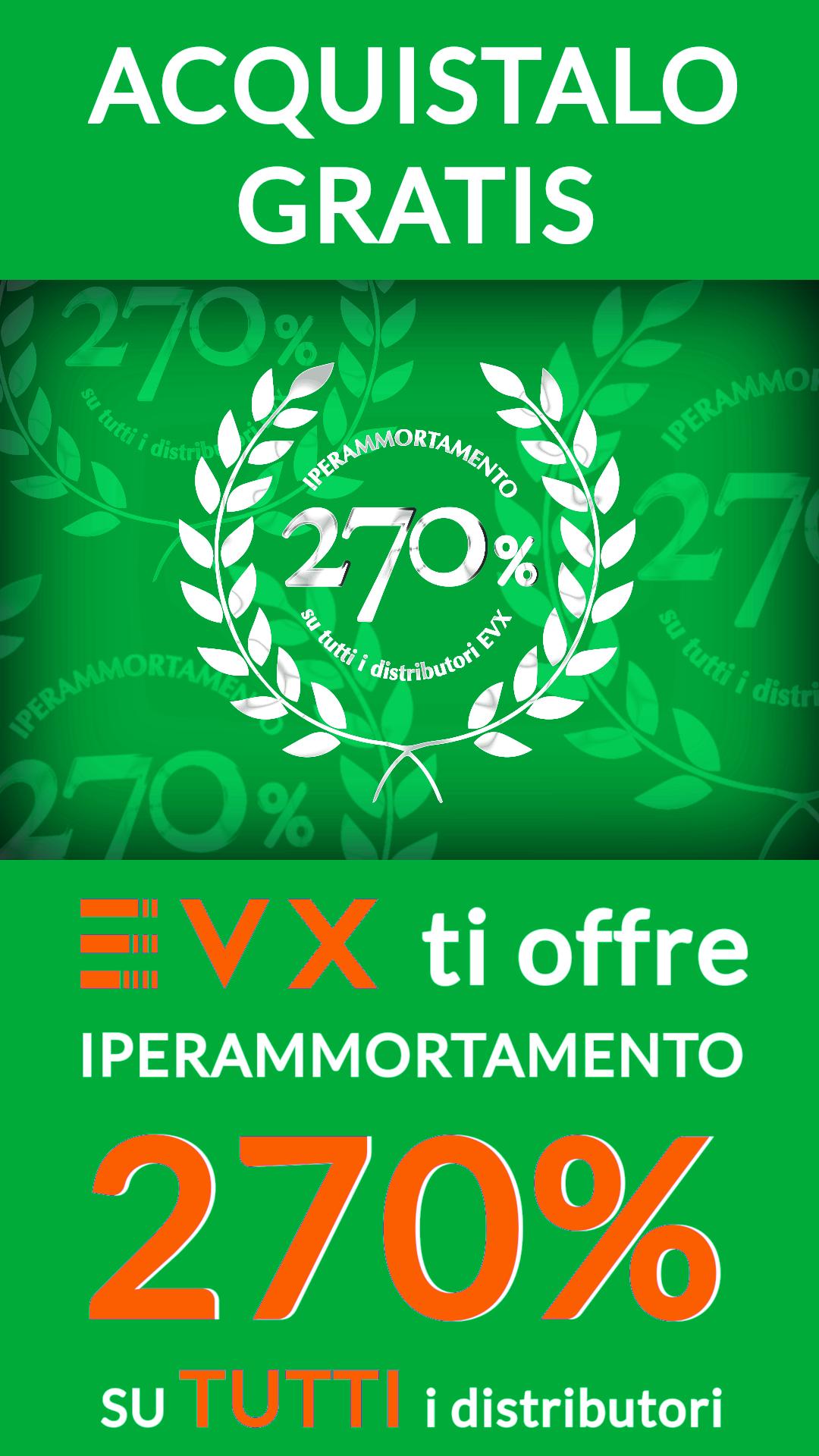 Locandina Iperammortamento 270 % EVX Farma
