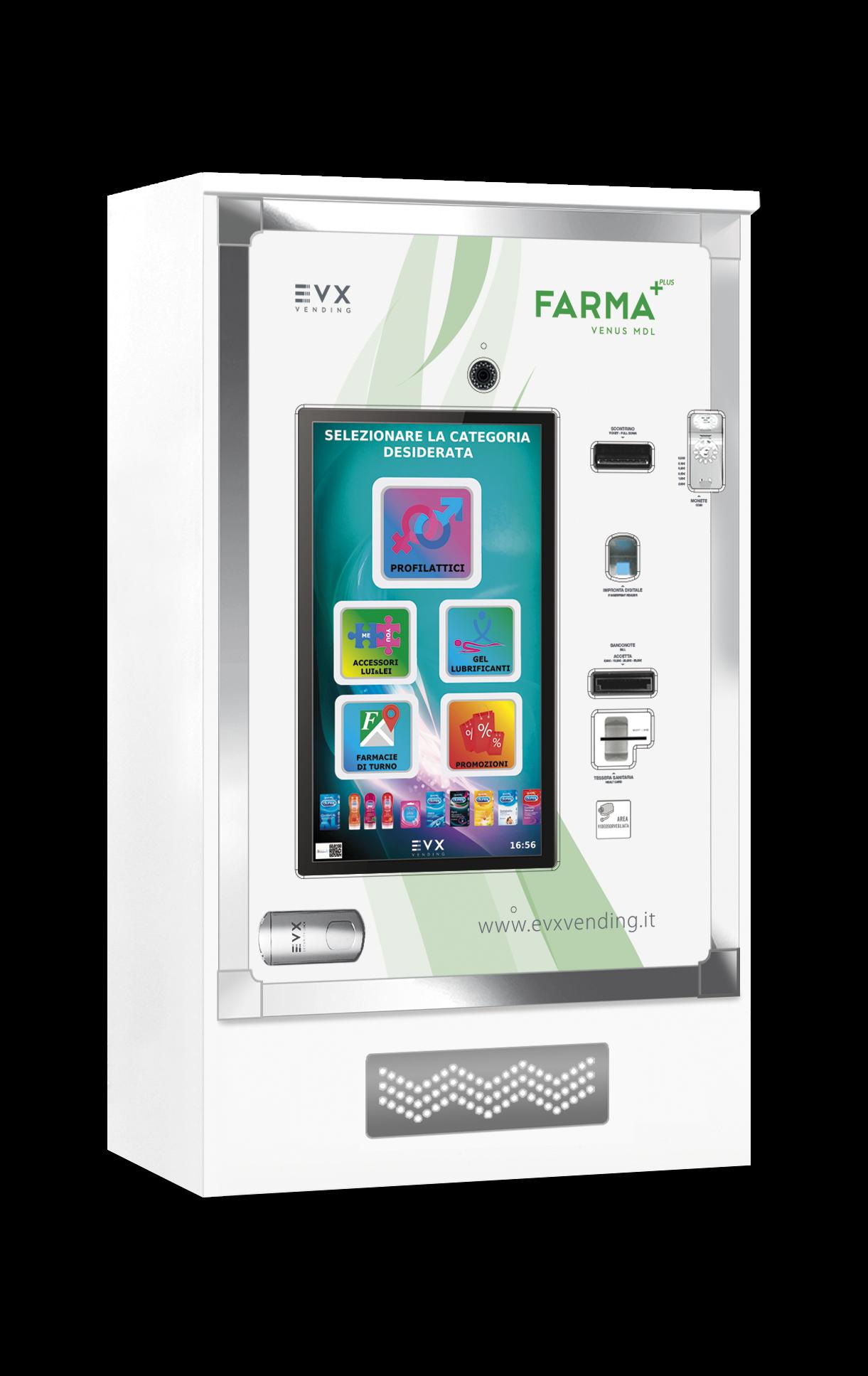 Venus Farma Plus EVX distributore automatico Farmacie