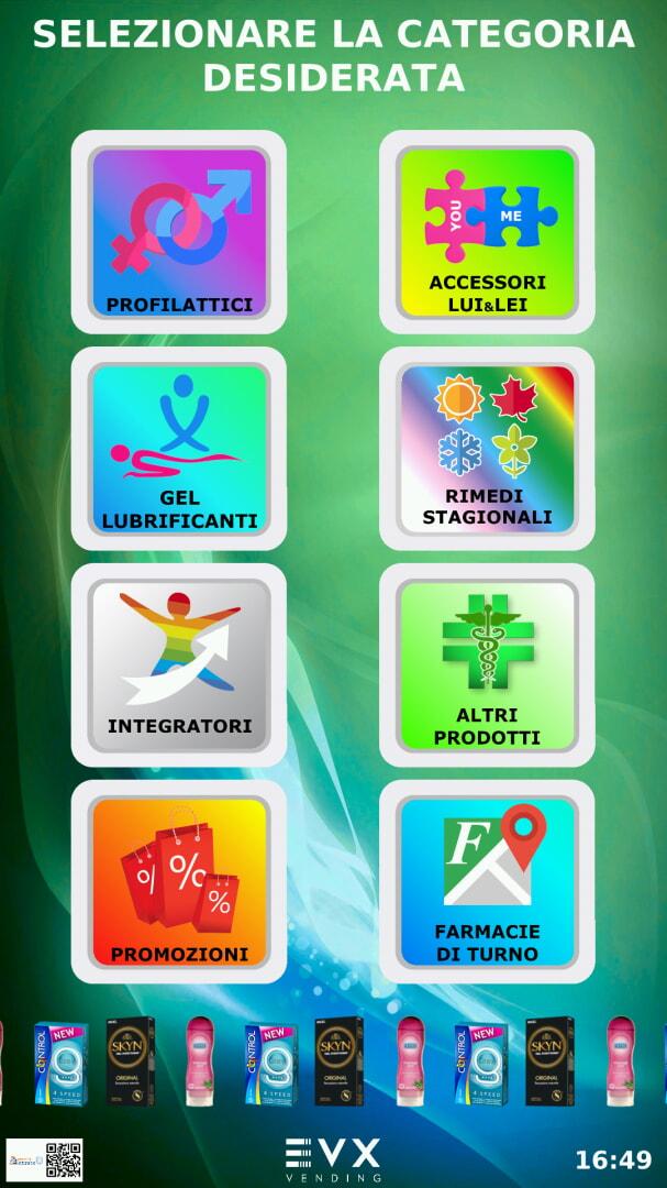 touch screen Farmacia