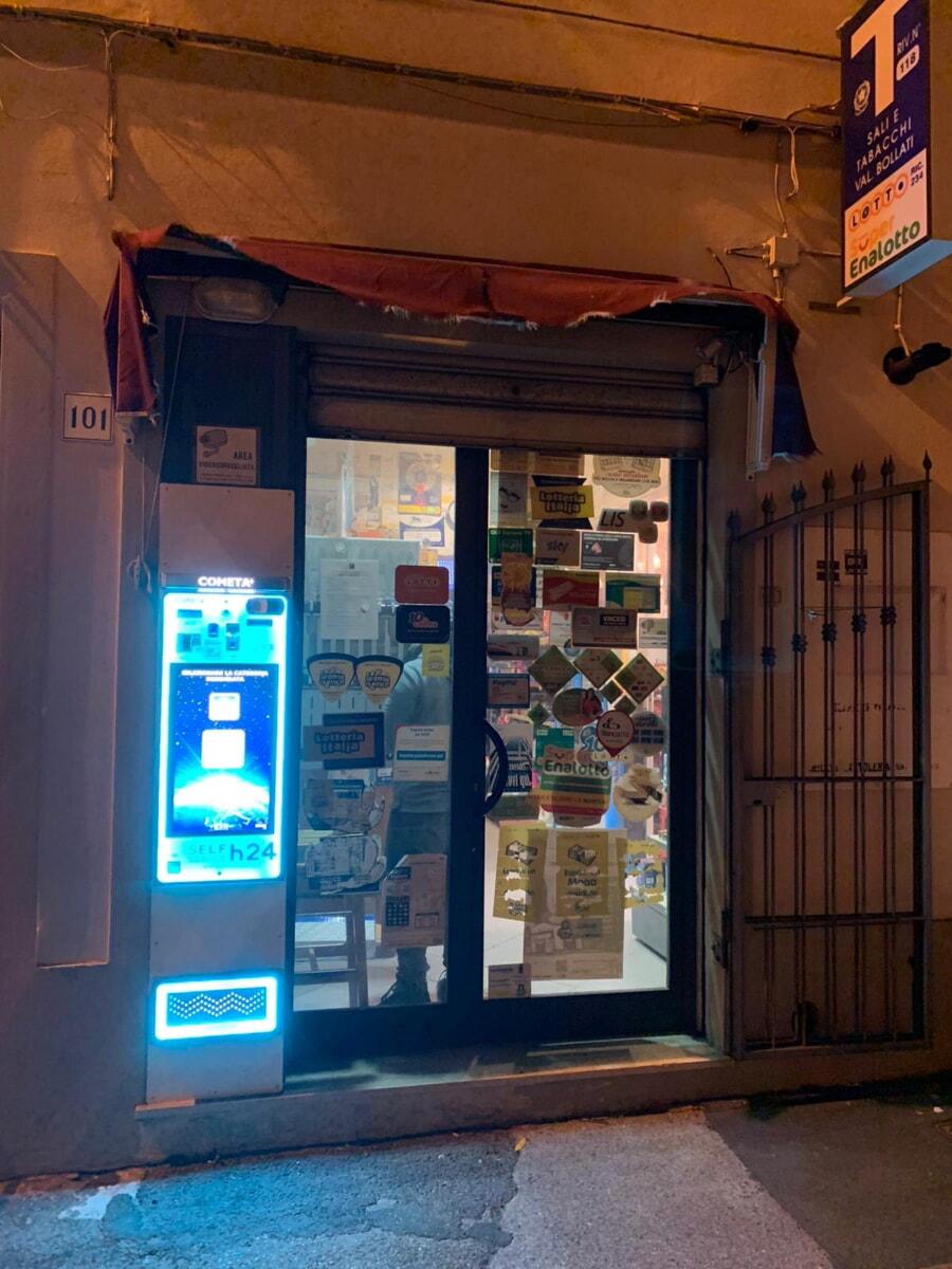 Distributore automatico di sigarette EVX Cometa +Plus