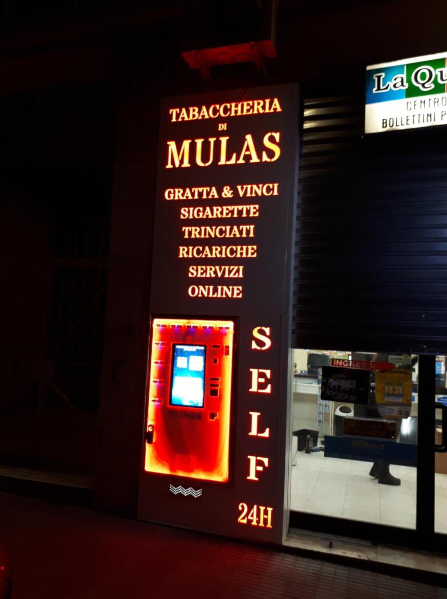 Distributore automatico di sigarette EVX Giove +Plus -1