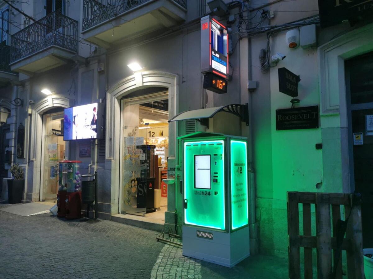 Distributore di sigarette EVX Giove +Plus Full-light